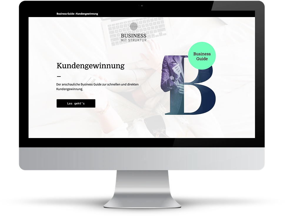 Business Guide Kundengewinnung