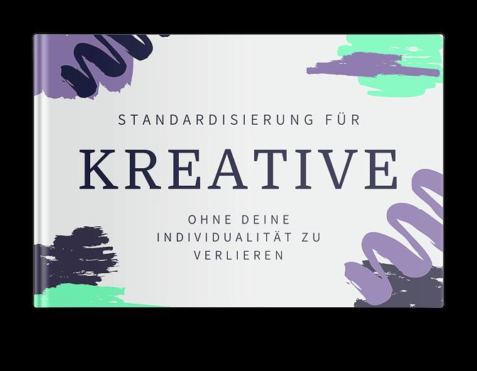 Kostenloses Booklet Standardisierung für Kreative